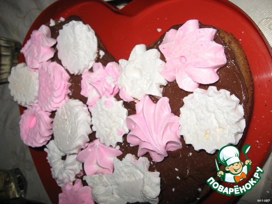 """Шоколадный торт """"Заколдованное сердце Великана..."""""""