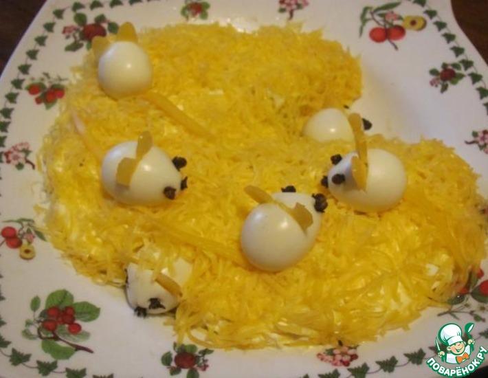 Рецепт: Салат Маленькие мышки!