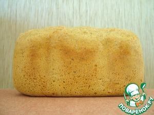 Выпекайте в хлебопечке 1 ч. или чуть дольше в зависимости от корочки, которую вы хотите. Я выпекала 1 час 15 минут. Или в разогретой духовке до готовности с паром первые 5 минут.      Вес хлеба около 800 грамм.