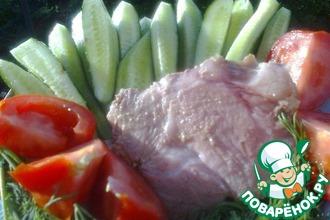 Рецепт: Буженина (запеченное мясо)