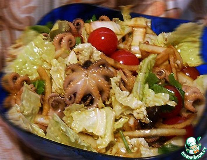салат из осьминожек рецепты