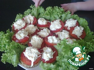 Bon appetit! Juicy with a hint of garlic. Men enjoy!