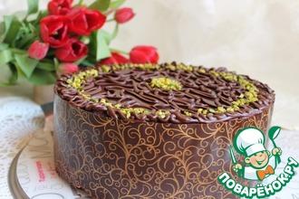 Рецепт: Торт шоколадно-банановый