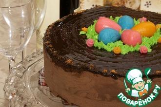 Рецепт: Торт праздничный Пасхальный
