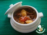 Венгерский суп-гуляш ингредиенты