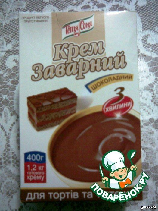 Шоколадный торт Веселый бычок