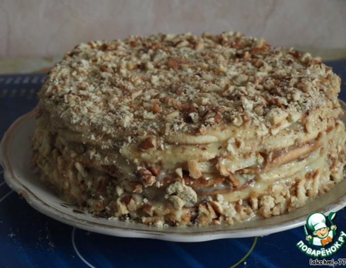 Рецепт: Торт на сковороде
