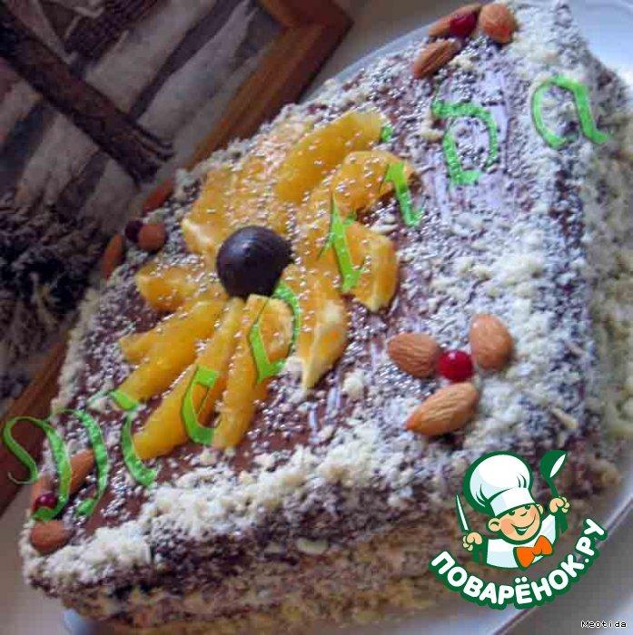 Тортик Зимний цветок
