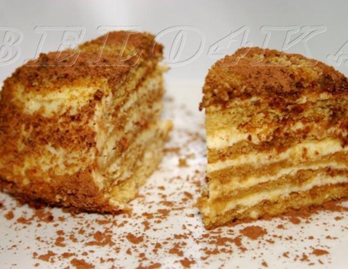 Рецепт: Торт Диво дивное
