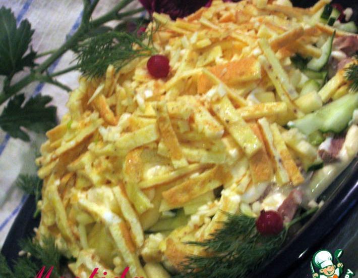 Рецепт: Салат Идиллия