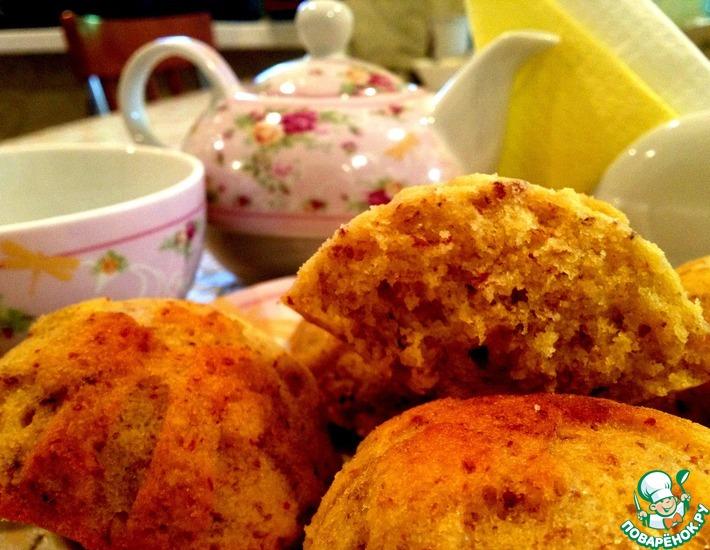 Рецепт: Пасхальные кексы с лимоном и миндалём