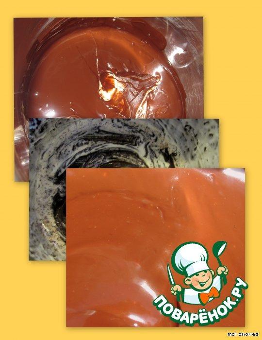 Шоколадное покрытие Медок для тортов и сладкой выпечки