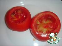Завтрак из помидоров с яйцом ингредиенты