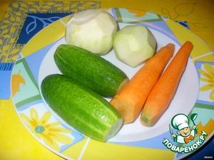 Салат из кольраби – кулинарный рецепт
