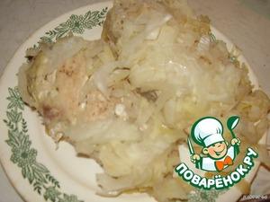 готовое филе выложить на тарелку целиком