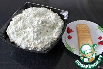 Рецепт: Закуска творожно-сырная