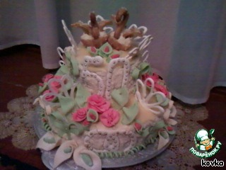 Аматорский свадебный торт