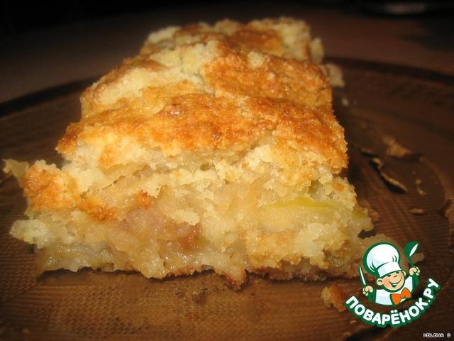 Посыпной пирог с манкой