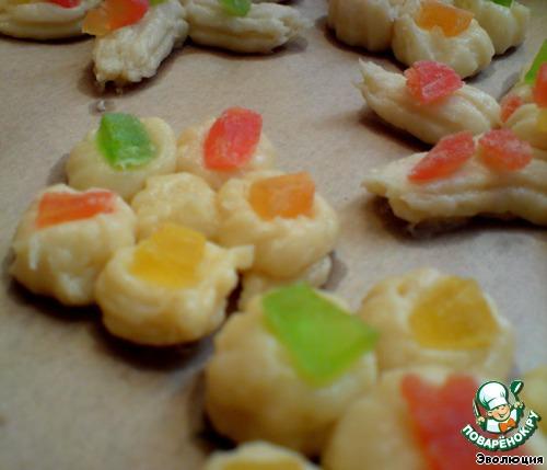 Печенье Цветы к празднику