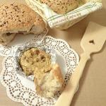 Хлеб Тайник с сырно-грибным соусом