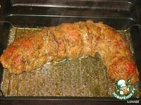 Рулет из мяса с мясом ингредиенты