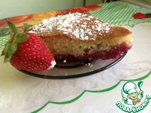 Рецепт Легкий и быстрый венский пирог