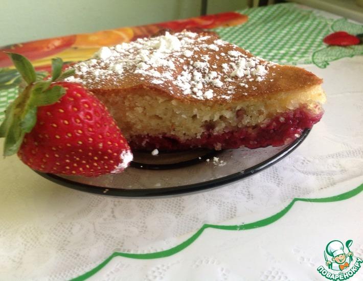 Рецепт: Легкий и быстрый венский пирог