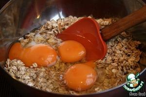 Add the eggs.
