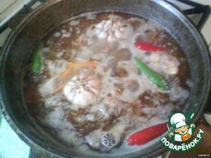 Плов по-фергански – кулинарный рецепт
