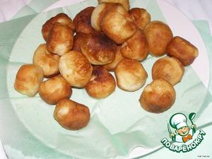 Дрожжевые пончики – кулинарный рецепт