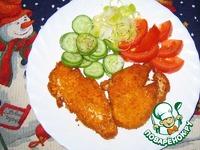 Грудки куриные в острой панировке ингредиенты