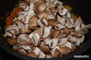 Постная лапша с грибами - пошаговый рецепт с фото на Повар.ру