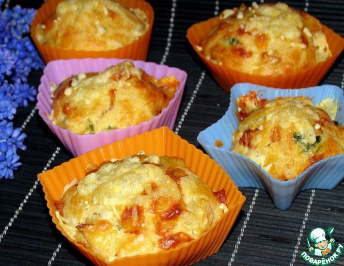 рецепты закусочных маффинов