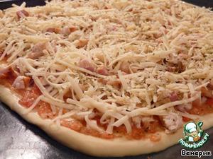 """Пицца """"Цыпленок Барбекю"""" – кулинарный рецепт"""