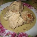 Курица в ореховом соусе Бажа