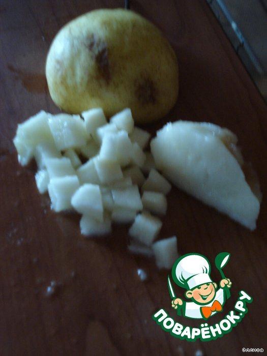 Десерт Грушово-манговое чудо
