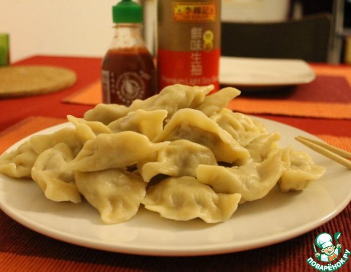 Рецепт: Пельмени по-китайски