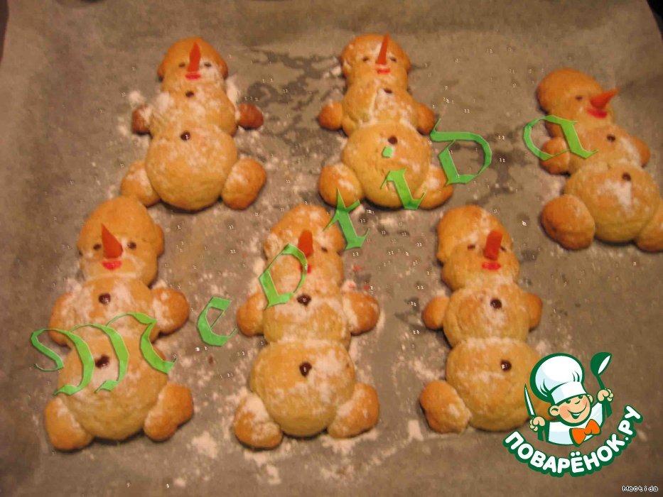 Печенье Гнездо снеговика