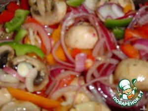 Салат из свежих шампиньонов – кулинарный рецепт
