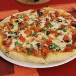 Пицца с салями и перцем пепперони Как в Италии