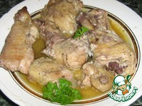 Курица в собственном соку в банке ингредиенты