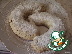 Take out and sprinkle with mixture of powdered sugar and vanilla until the bagels are still warm
