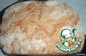 Готовый хлеб остудить на решётке не менее 30 минут.