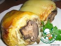 Зеленый перец, фаршированный картофелем ингредиенты