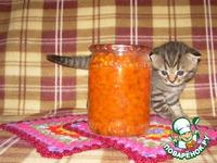 Варенье из молодой моркови Витаминка ингредиенты