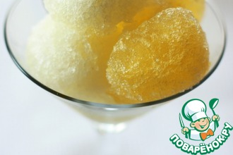 Рецепт: Гранита из лимона и апельсина
