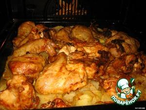 Курица – кулинарный рецепт
