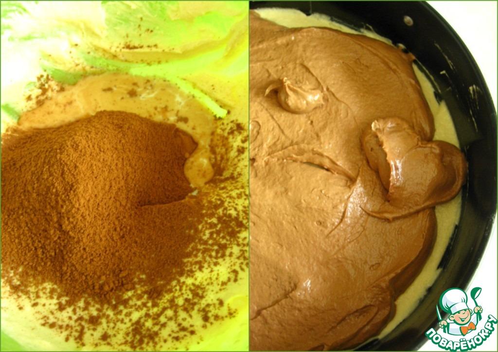 Торт с вишней и шоколадом