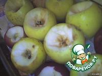 Печеные яблоки ингредиенты