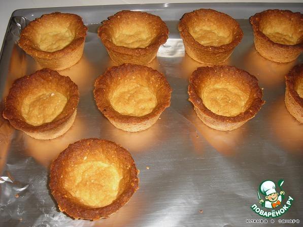 Малиново-ореховые корзиночки Гарфилд